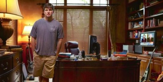 Picture of michael burry in his office