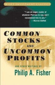 Common Stocks and Uncommon Profits and Other Writings, by Philip Fisher book cover