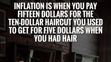 A great quote describing what Inflation is about