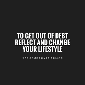 How to make it out of debt